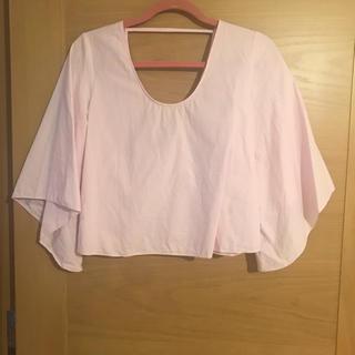 ザラ リボンシャツ シャツ/ブラウス(レディース/長袖)の通販 ...