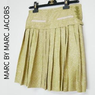マークバイマークジェイコブス(MARC BY MARC JACOBS)のMARC BY MARC JACOBS マークジェイコブス 綿100薄手スカート(ひざ丈スカート)