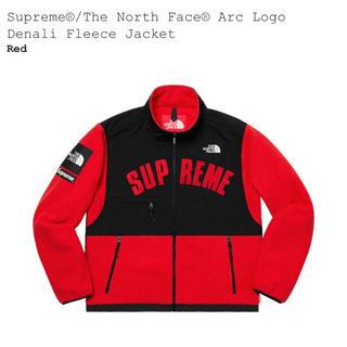 Supreme - 赤S Supreme The North Face Fleece Jacket