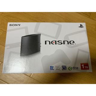 ナスネ(nasne)の未開封 SONY nasne 1TBモデル CUHJ-15004(その他)