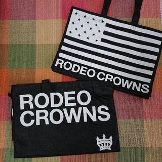 ロデオクラウンズ(RODEO CROWNS)のrodeocrowos ショッパー 2枚セット(ショップ袋)