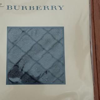 バーバリー(BURBERRY)のBURBERRY ブラック タイツ ストッキング(タイツ/ストッキング)