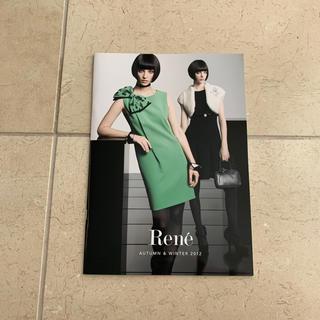 ルネ(René)のRene 2012 AUTUMN & WINTER カタログ(ファッション)