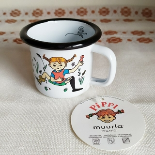 マリメッコ(marimekko)のレア ✾ 長くつ下のピッピ ✾ マグカップ from Sweden(絵本/児童書)