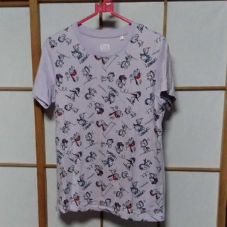 ユニクロ(UNIQLO)のSNOOPYTシャツ(Tシャツ(半袖/袖なし))