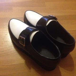 ジーユー(GU)のGUモンクストラップシューズ*(ローファー/革靴)