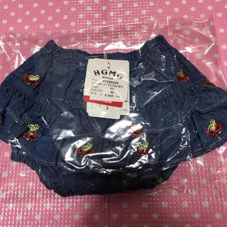 ヒステリックミニ(HYSTERIC MINI)の刺繍スカートとブルマセット  80(スカート)