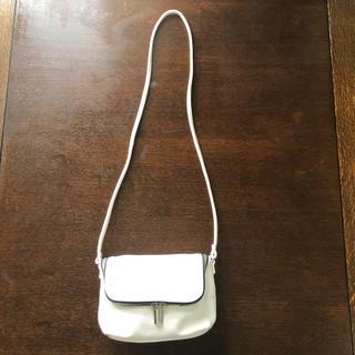 エイチアンドエム(H&M)の H&M ホワイト ポシェット  (ショルダーバッグ)
