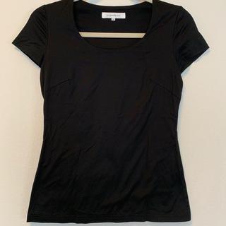 エムプルミエ(M-premier)のM-PREMIER 黒Tシャツ(Tシャツ(半袖/袖なし))