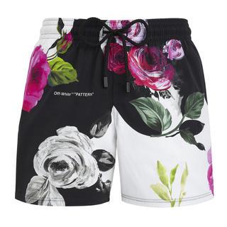 オフホワイト(OFF-WHITE)のOFF-WHITE Vilebrequin 花柄スイムウェア (水着)