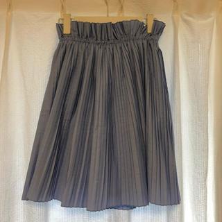ニーナミュウ(Nina mew)のニーナミュウ プリーツスカート ひざ丈 ライトブルー (ひざ丈スカート)