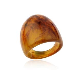 ビューティアンドユースユナイテッドアローズ(BEAUTY&YOUTH UNITED ARROWS)の新品 大ぶり 太め ウッド 大理石調 べっ甲 指輪 リング (リング(指輪))