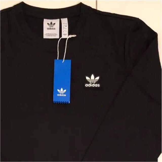 adidas(アディダス)の新品 adidas オリジナルス ロンT ブラック L メンズのトップス(Tシャツ/カットソー(七分/長袖))の商品写真