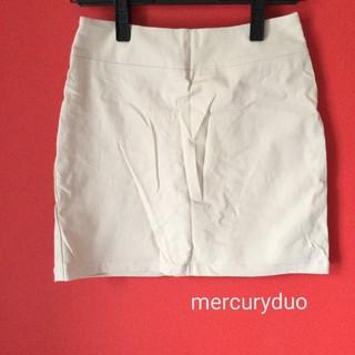 マーキュリーデュオ(MERCURYDUO)のmercuryduo シンプルスカート(ミニスカート)