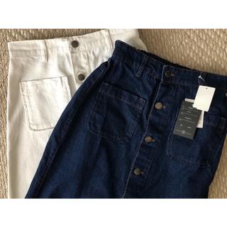 しまむら - ☆デニムロングスカート2枚☆ Mサイズ