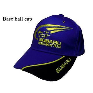 スバル(スバル)のスバル他 ●刺繍ロゴマーク入り ベースボールキャップ 帽子 野球帽(車種別パーツ)