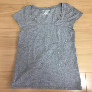 グレースコンチネンタル(GRACE CONTINENTAL)のグレーTee(Tシャツ/カットソー(半袖/袖なし))