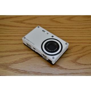 ペンタックス(PENTAX)の【PENTAX】デジタルカメラ/デジカメ/コンパクトデジカメ(ホワイト)(コンパクトデジタルカメラ)