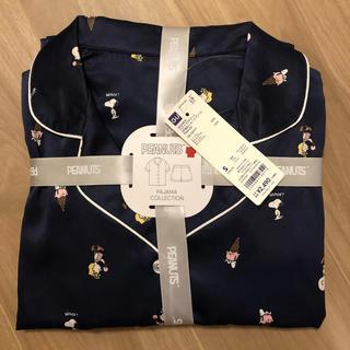 GU - 新品☆ ジーユー スヌーピー サテン パジャマ