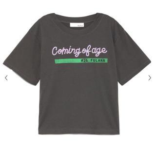 リリーブラウン(Lily Brown)のリリーブラウンのスパンコールTシャツ(Tシャツ(半袖/袖なし))
