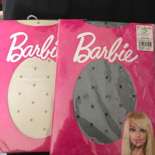 バービー(Barbie)の水玉ストッキング(タイツ/ストッキング)