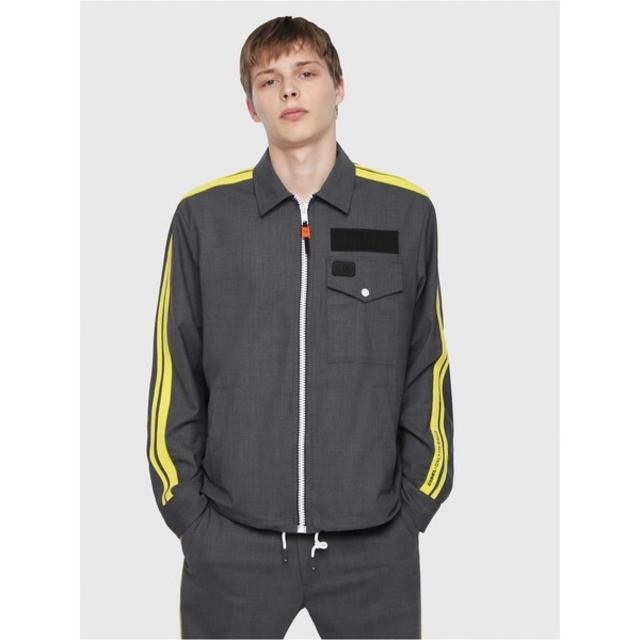 DIESEL(ディーゼル)の DIESEL コーチジャケット グレー   M ディーゼル メンズのジャケット/アウター(その他)の商品写真
