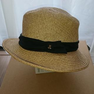 ランバンオンブルー(LANVIN en Bleu)のLANVIN en Bleu   帽子(麦わら帽子/ストローハット)