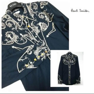 JOHN LAWRENCE SULLIVAN - paulsmith コレクション ウェスタンシャツ