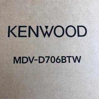 KENWOOD - KENWOOD MDVーD706BTW