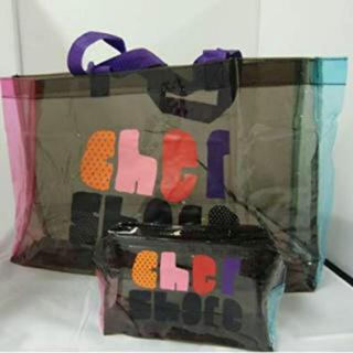 Cher - 新品 cher ビニールトートバッグ