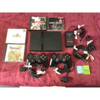 プレイステーション2(PlayStation2)のプレイステーション2 / PS2 本体 SCPH-70000 ブラック(家庭用ゲーム本体)