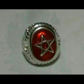 ラルクhyde着用タイプ スターリング レッド21号(リング(指輪))