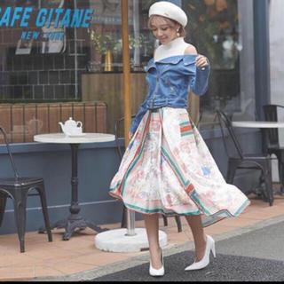 エイミーイストワール(eimy istoire)の❤️【送料込】Flowerscarfアシンメトリースカート☆eimyistoir(ひざ丈スカート)