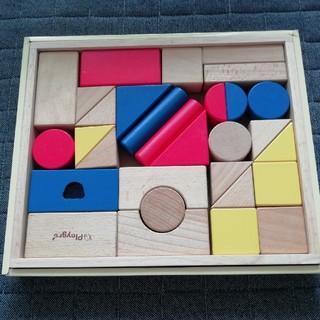 ファミリア(familiar)のファミリア つみき 木製(積み木/ブロック)