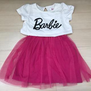 バービー(Barbie)のLica様用 Barbie バービー ワンピース 女の子 80 90(ワンピース)