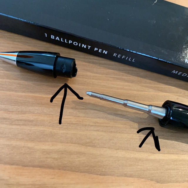 MONTBLANC(モンブラン)のMontBlanc☆ボールペン インテリア/住まい/日用品の文房具(ペン/マーカー)の商品写真