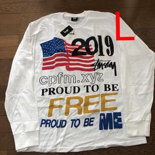ステューシー(STUSSY)のSTUSSY CPFM PROUD TO BE LS TEE(Tシャツ/カットソー(七分/長袖))