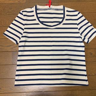 マルニ(Marni)のマルニ Marni バックリボンボーダーTシャツ 42(Tシャツ(半袖/袖なし))