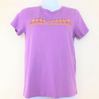 マークジェイコブス(MARC JACOBS)のマークジェイコブス Tシャツ レディース ロゴ M4006731 紫(Tシャツ(半袖/袖なし))