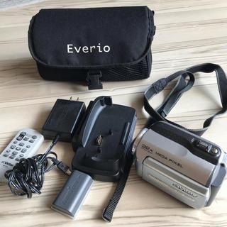 ビクター(Victor)のビデオカメラ☆victor☆GZ-MG155-A(ビデオカメラ)