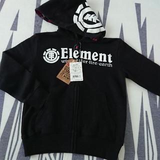エレメント(ELEMENT)のエレメント  フードロゴパーカー  新品(ジャケット/上着)