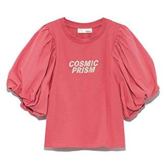 リリーブラウン(Lily Brown)のリリーブラウン   バルーンTシャツ  ピンク(Tシャツ(半袖/袖なし))