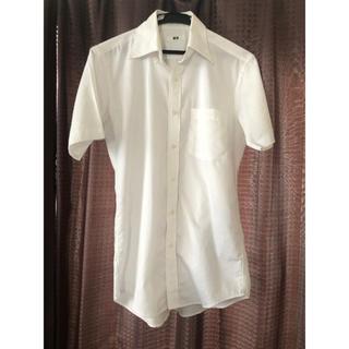 UNIQLO - ユニクロ UNIQLO Yシャツ ストライプ柄 Sサイズ