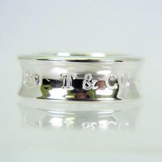 ティファニー(Tiffany & Co.)のTIFFANY 925 ナロー 1837 リング 9号[f24-4](リング(指輪))