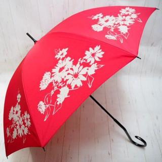 シビラ(Sybilla)のSybilla シビラ 12本骨 長傘 雨傘☆花柄 マゼンタ(傘)