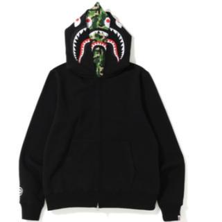 アベイシングエイプ(A BATHING APE)のbape abc shark full zip double hoodie (パーカー)