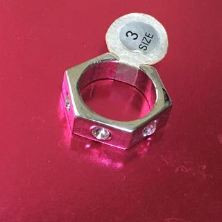 新品 ピンキー リング 指輪 3号(リング(指輪))