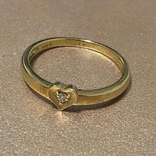フォリフォリ(Folli Follie)のK10 ダイヤモンド リング(リング(指輪))