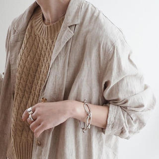 マルタンマルジェラ(Maison Martin Margiela)の完売m.a/thick chain bracelet(ブレスレット/バングル)