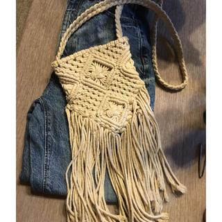 エイチアンドエム(H&M)のマクラメ編み バック 肩掛け(ショルダーバッグ)